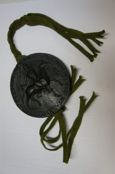 Magna Carta replica King John seal