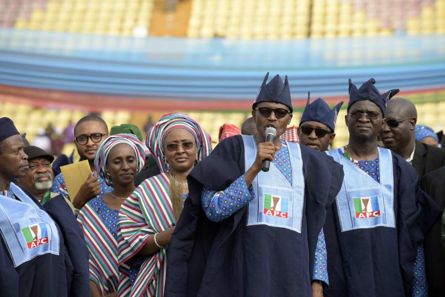 Nigeria Election leading opposition APC Mohammadu Buhari Speech PIUS UTOMI EKPEI AFP Getty Images