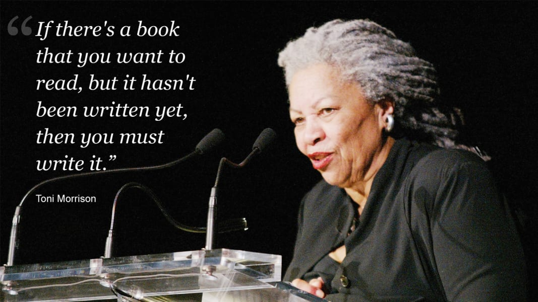 Toni Morrison on writing