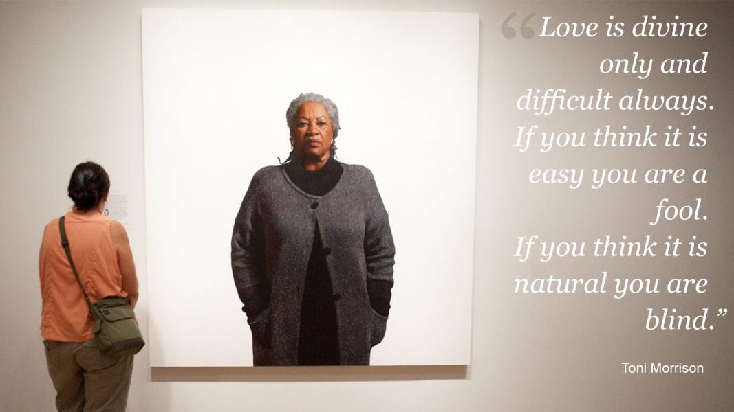 Toni Morrison on love 2