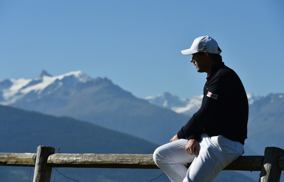 padraig harrington alpine view