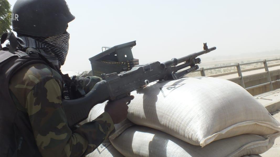 03_CAMEROON SOLDIER TARGETS GAMBAROU
