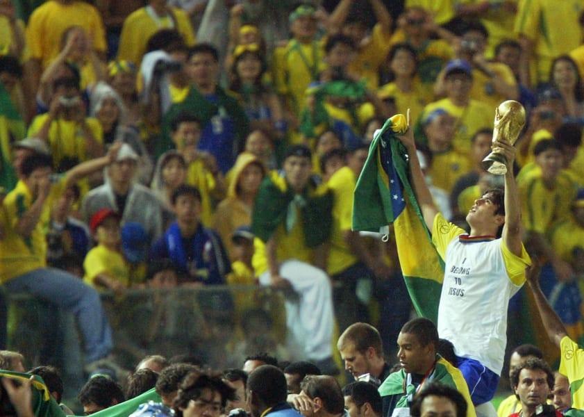Kaka world cup 2002