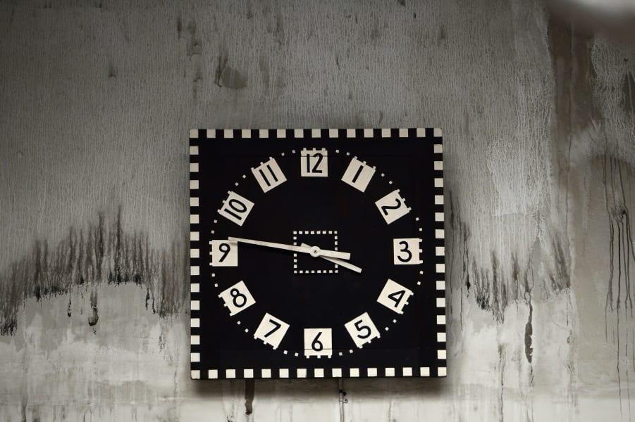 mackintosh library clock