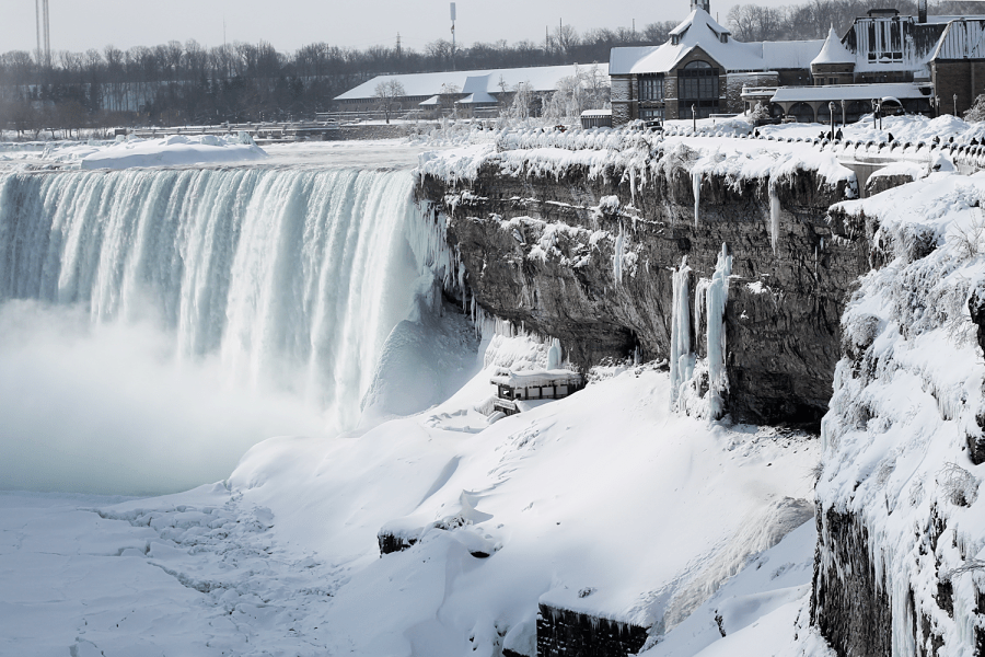 irpt frozen niagara falls by Spencer Wyille