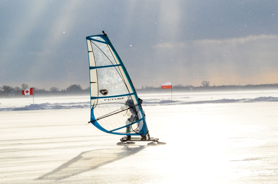 WISSA ice sled windy