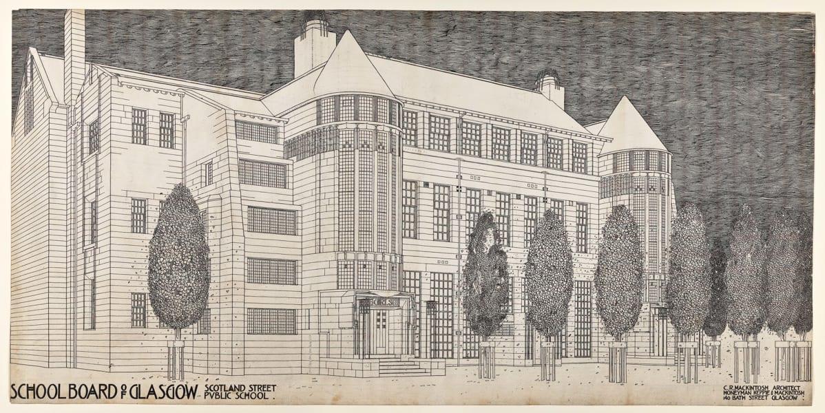SCOTLAND STREET SCHOOL MACKINTOSH