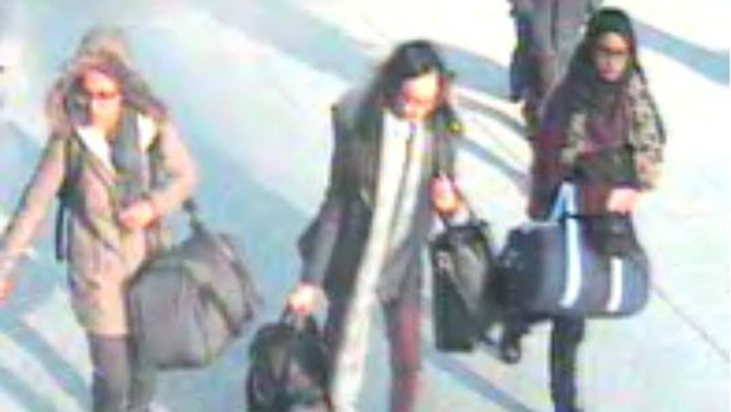 UK teens head to join ISIS TEASE IMAGE
