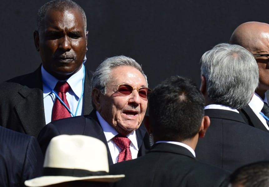 raul castro uruguay inauguration