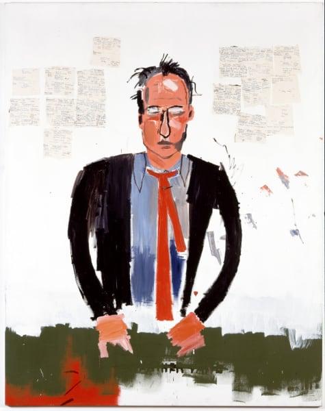 portrait of robert fraser basquiat