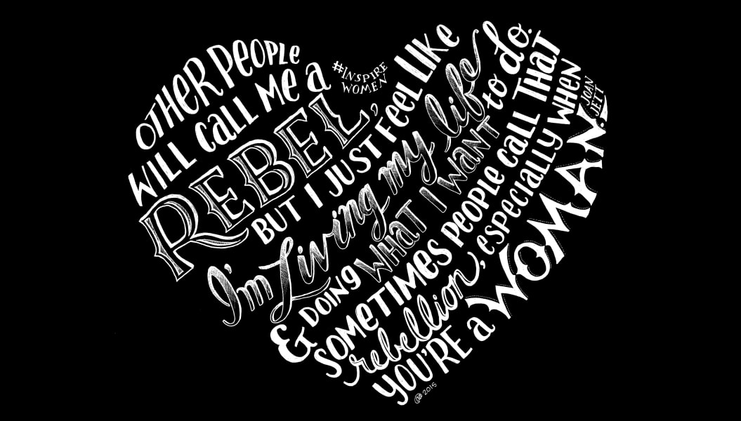 17 of the most inspirational women\'s quotes turned into art