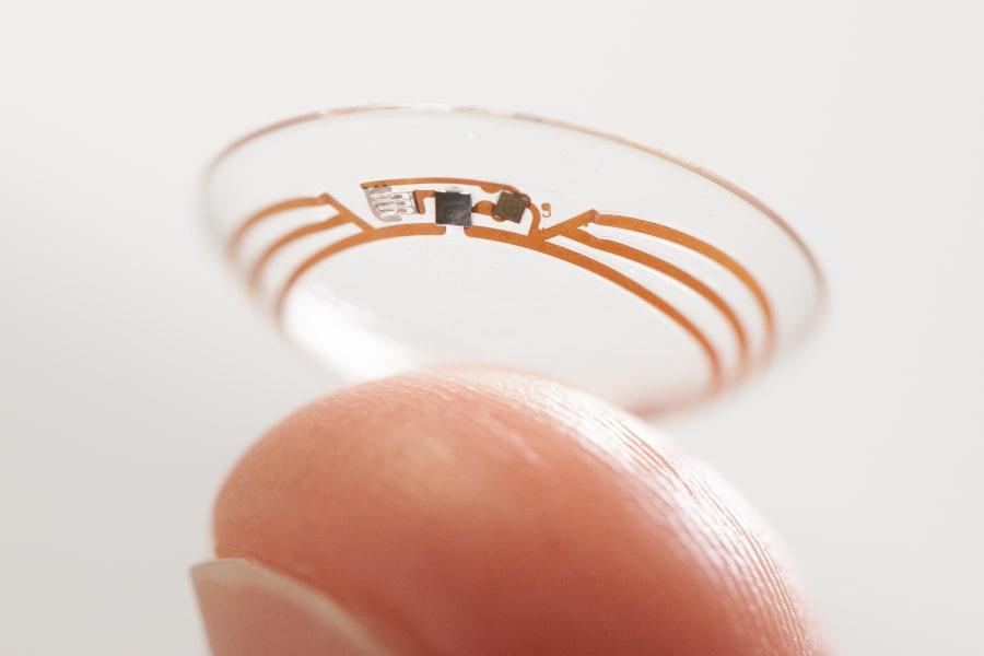 smart contact lens - novartis 2