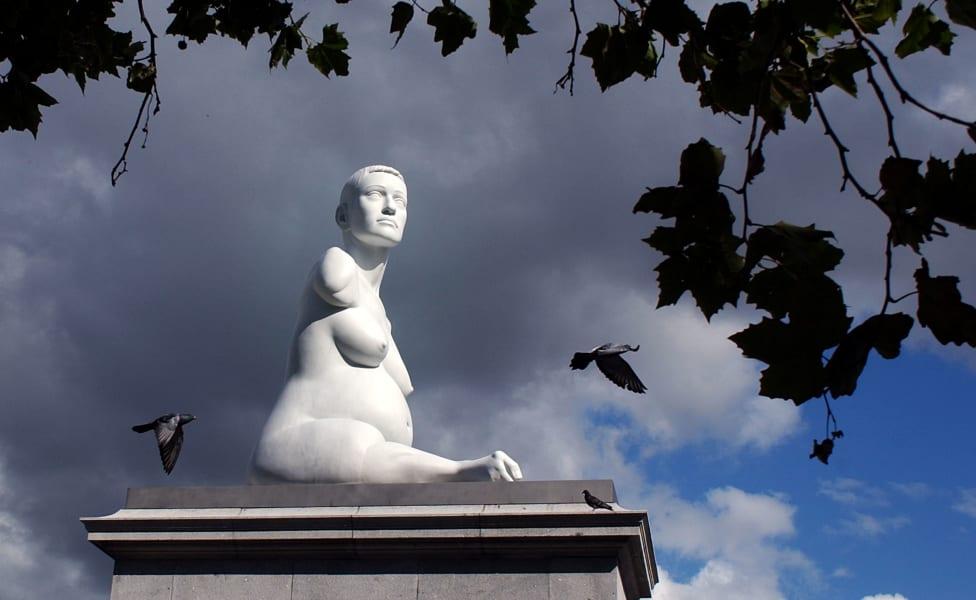 fourth plinth alison lapper pregnant