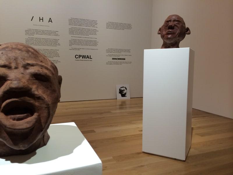 Democratic republic of congo Institute of Human activities chocolate sculptures