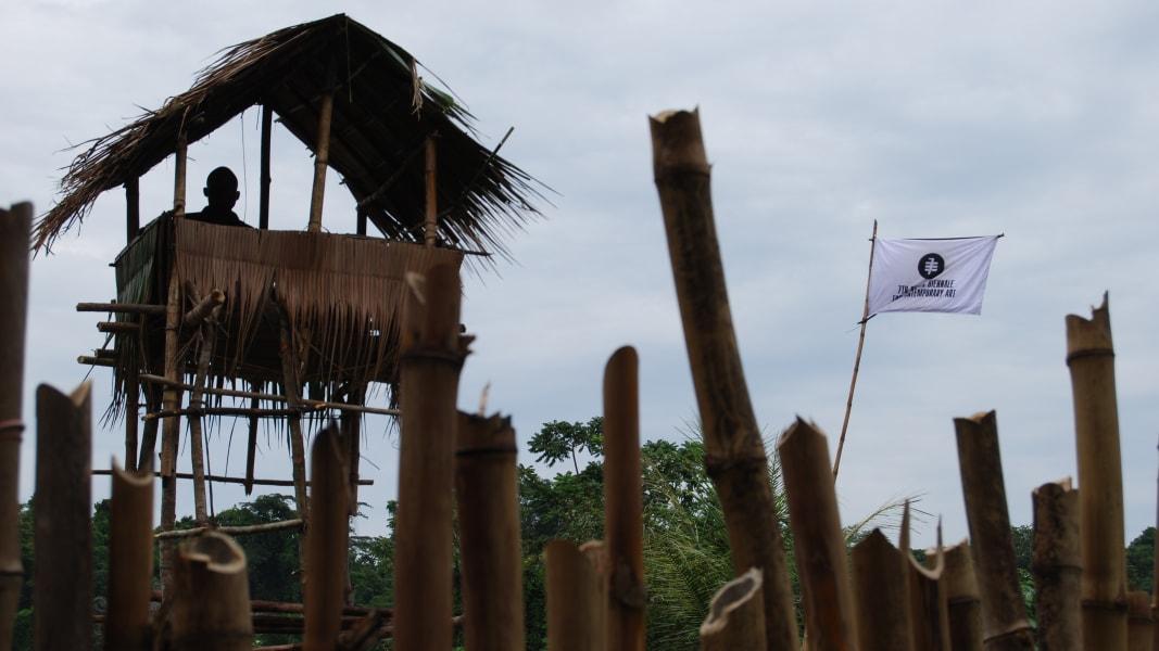 Democratic republic of congo Institute of Human activities unilver plantation watchtower