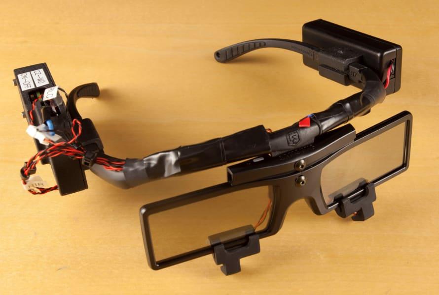 telescopic lenses smart glasses