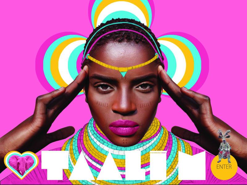 MAKING AFRICA EXHIBIT Pink Woman Credit Pierre Christophe Gam