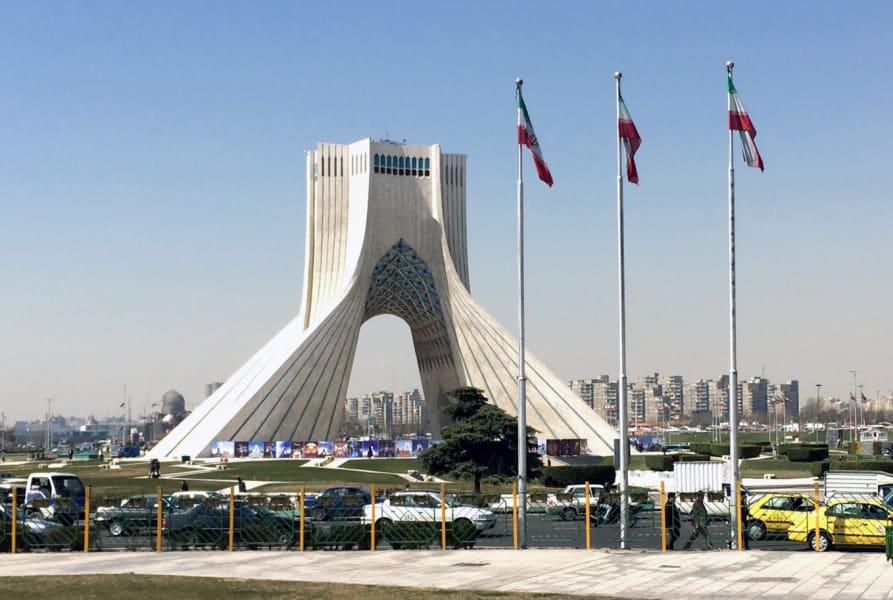 Pleitgen Tehran Azadi Square