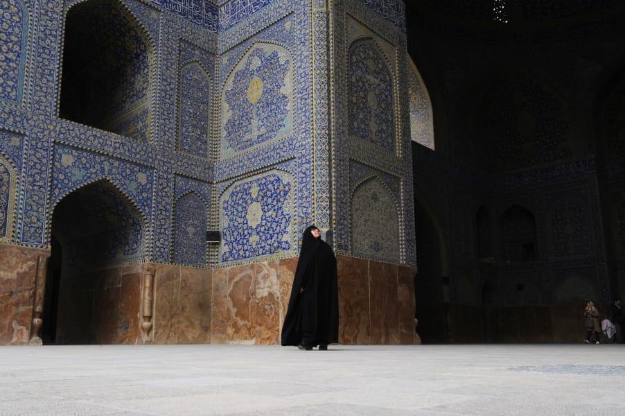 Iran Esfahan Blue Tiles