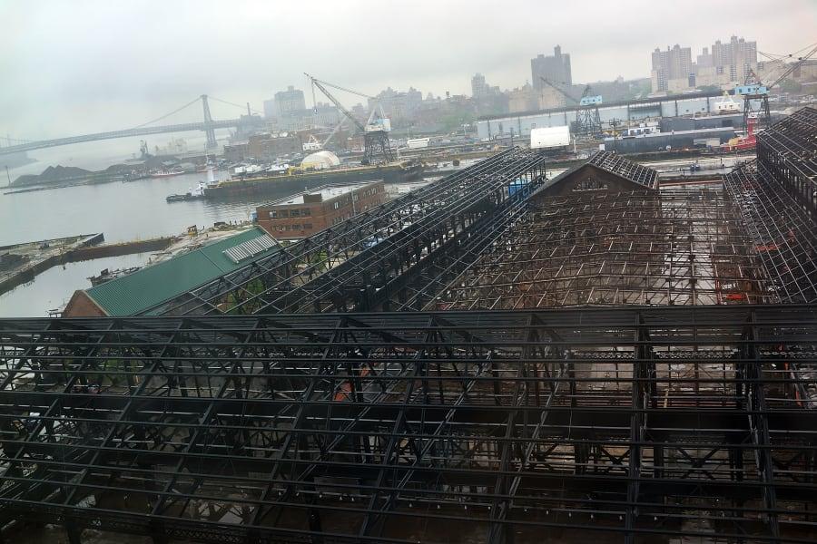 brooklyn navy yard construction work