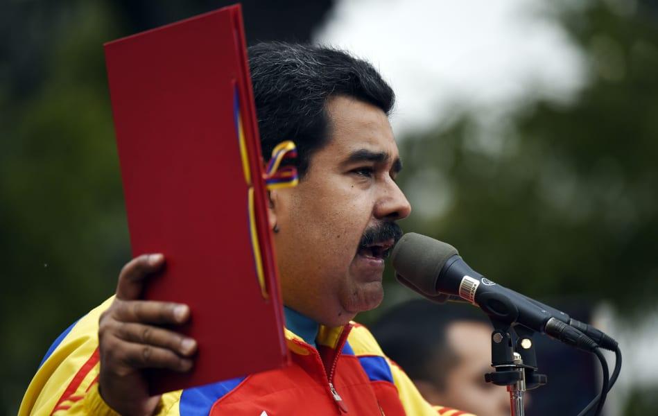 VENEZUELA-US-MADURO