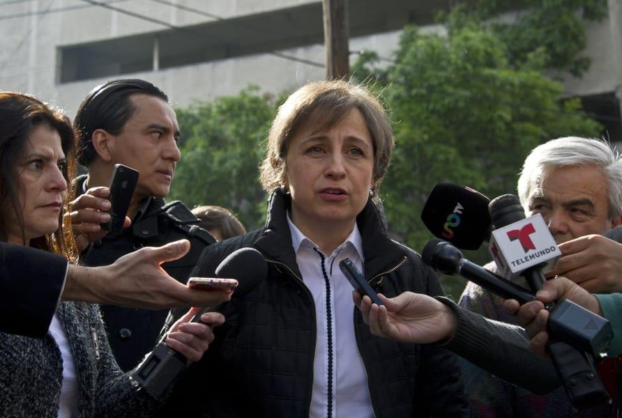 getty carmen aristegui presser about mvs