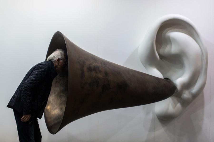art basel hong kong ear