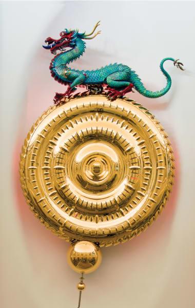 design shanghai dragon chronophage