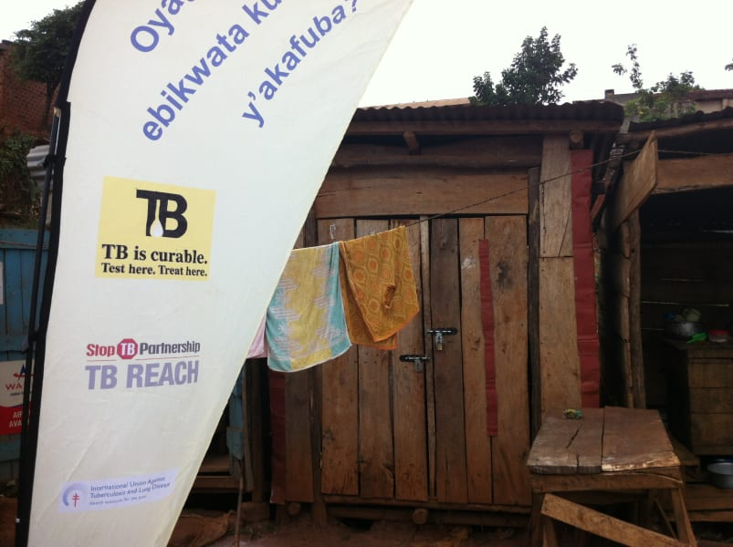 TB uganda health camp