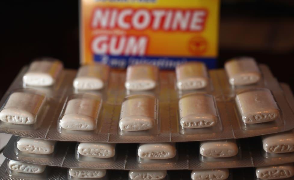 e-cigarettes gum