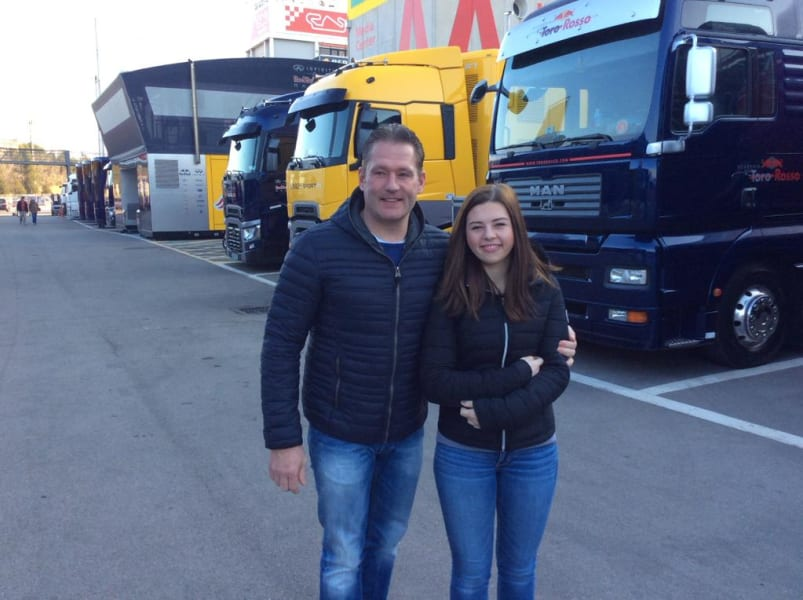 verstappen dad and sister