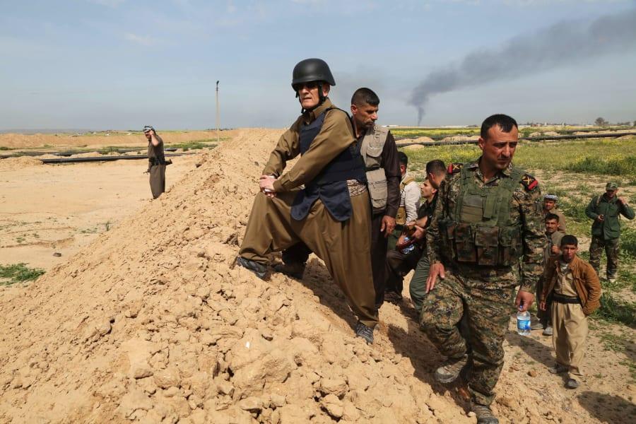 Peshmerga Najmiddin Karim Kirkuk