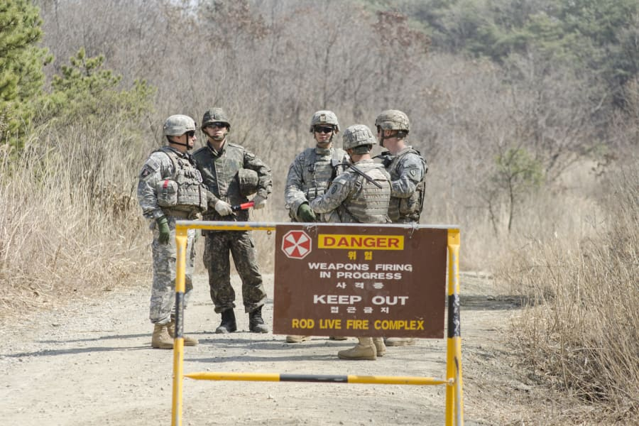 14 US and ROK soldiers