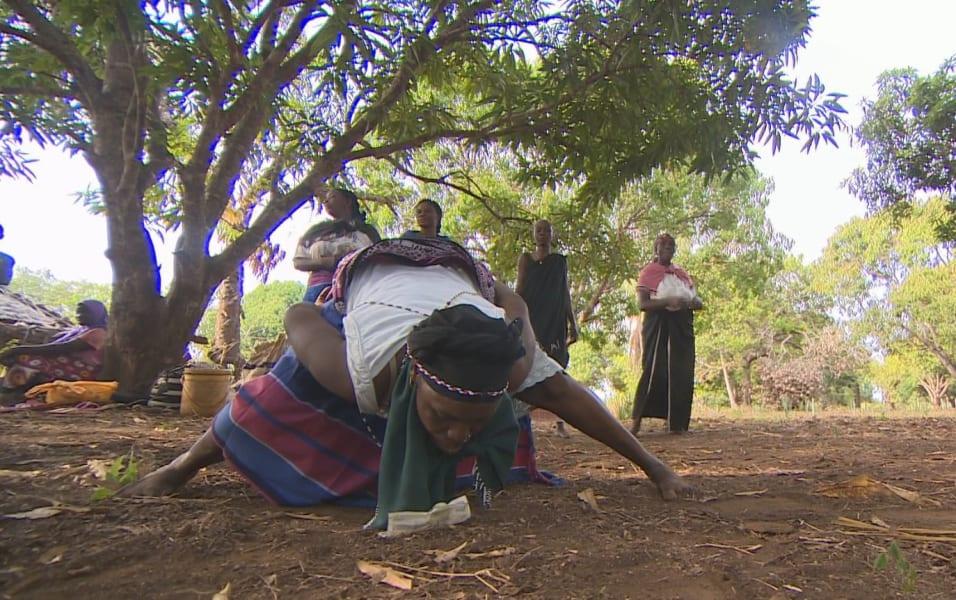 Mijikenda tribe dance