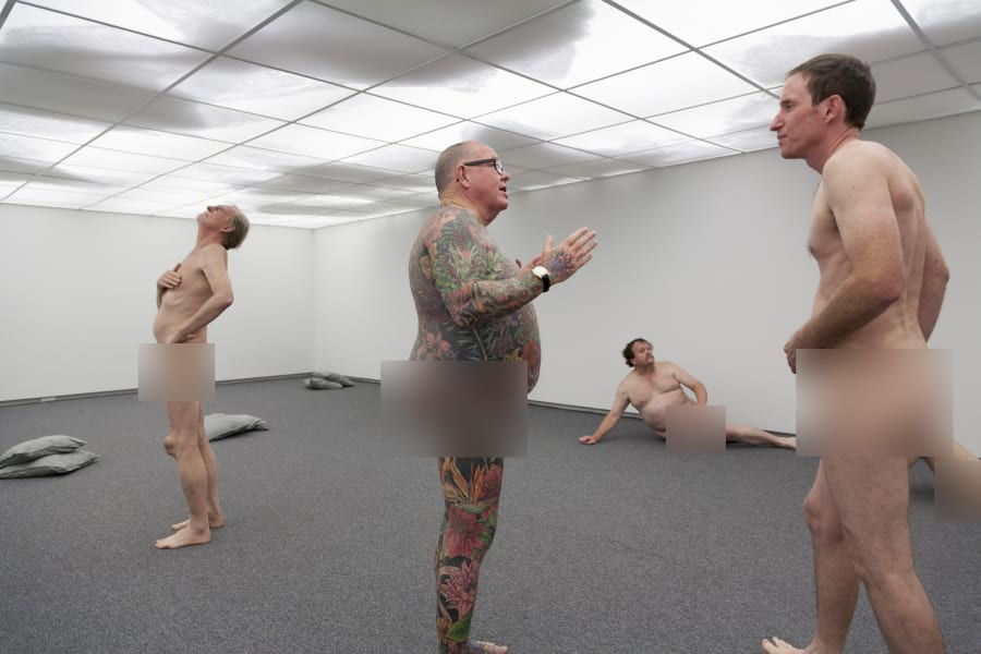 1. Naked art
