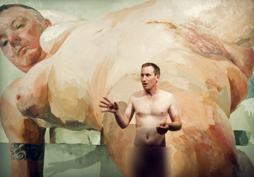 2. Naked art tours