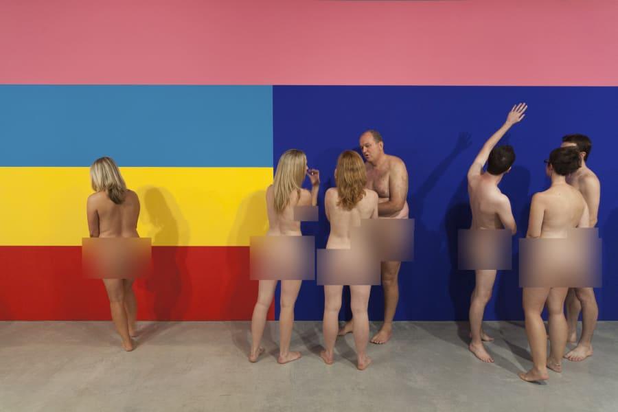 3. Naked art tours