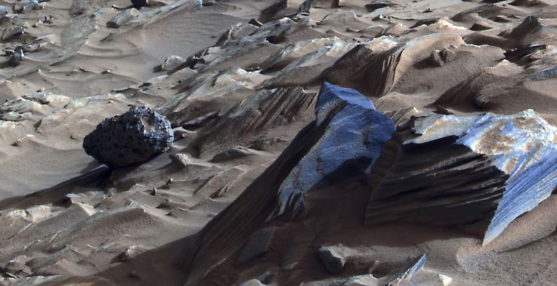 mars opportunity rover rocks