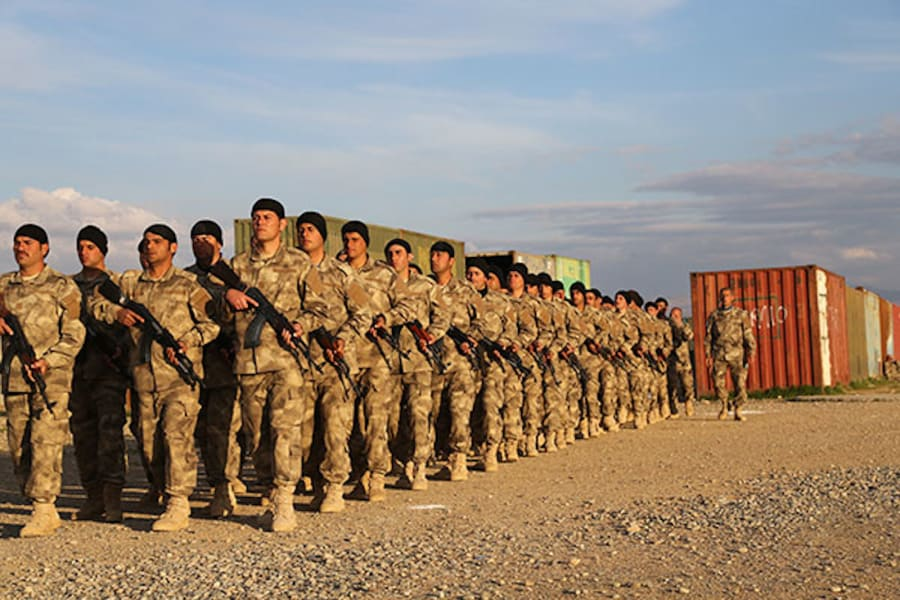 Nineveh-Plain-Protection-Units-march 2