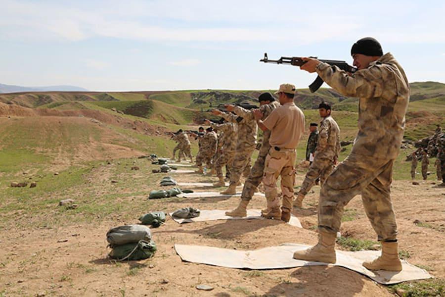 NPU-firing-range-training-Chamchamal-Iraq 2