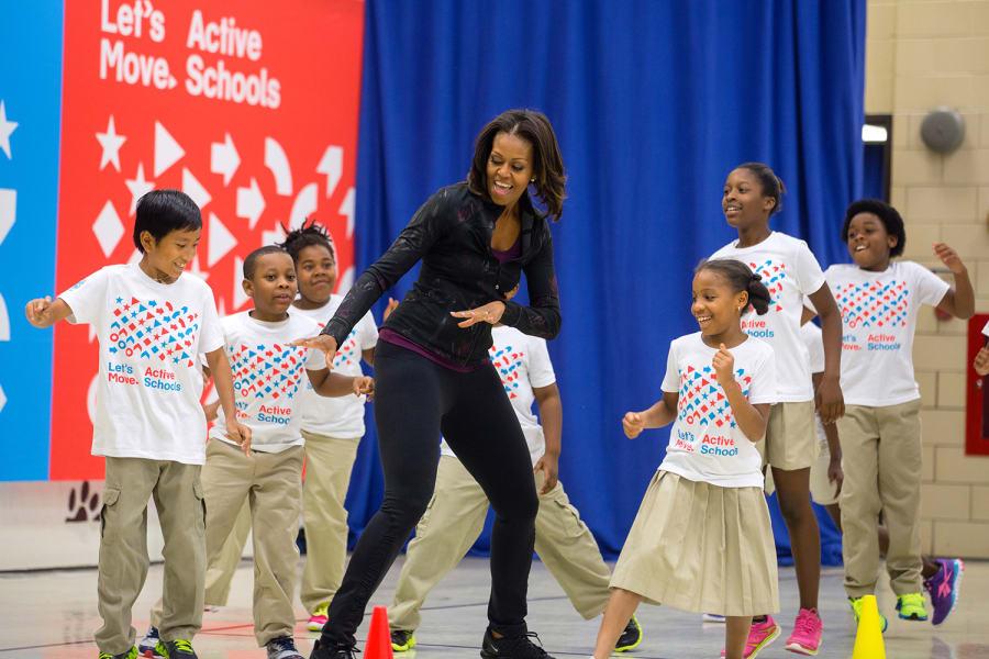 Michelle Obama move
