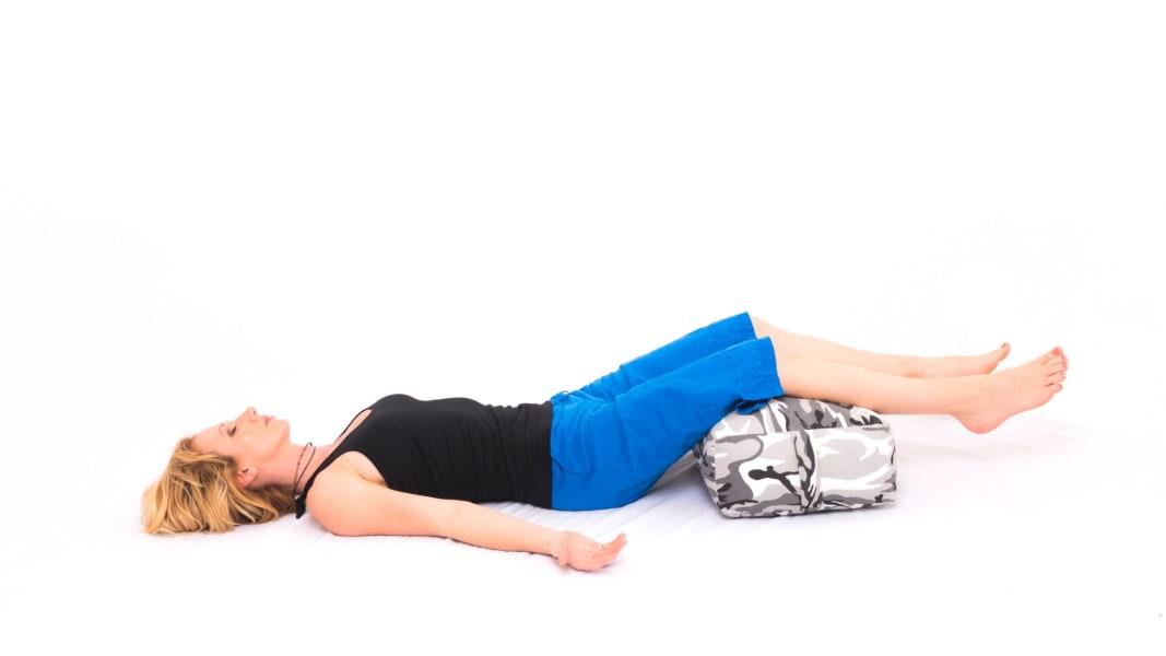 yoga DiaphragmaticBreathingLegsonPillow