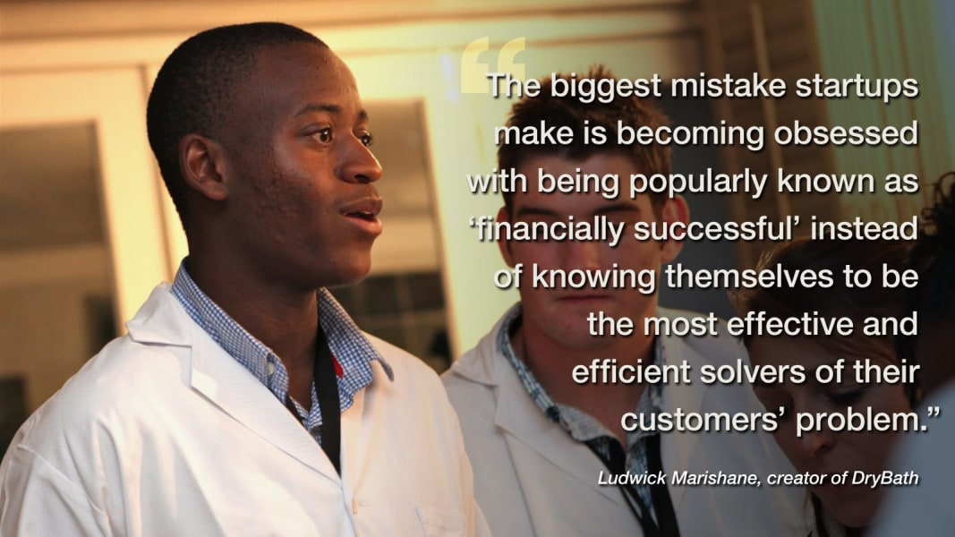 ludwick marishane business advice