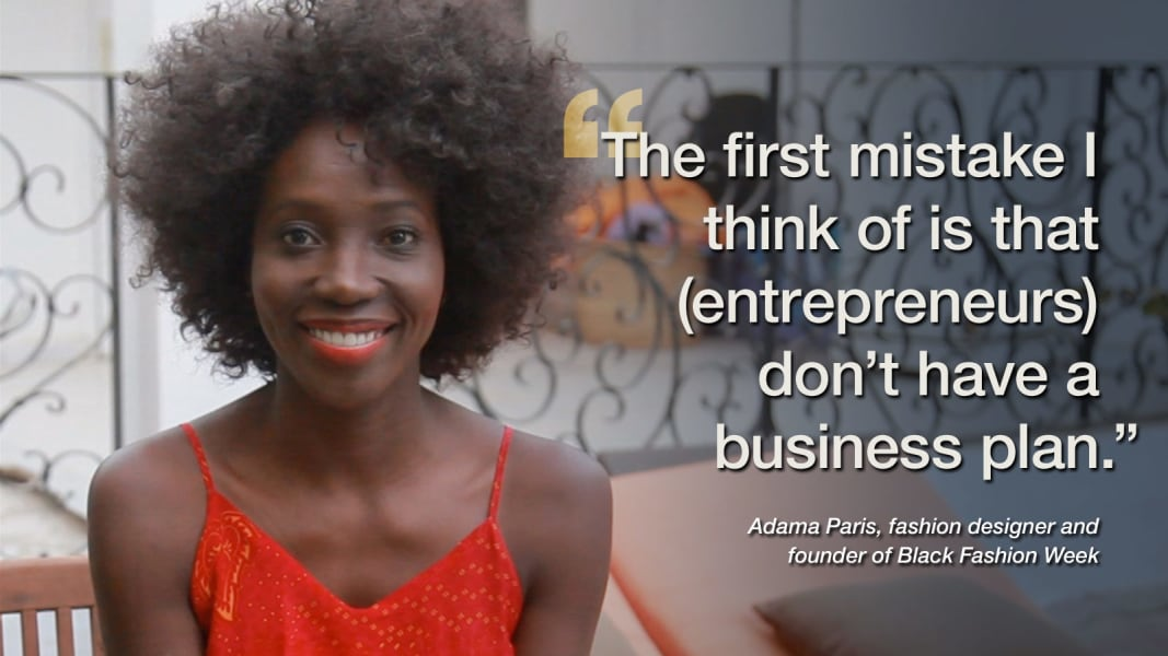 Adama Paris business advice
