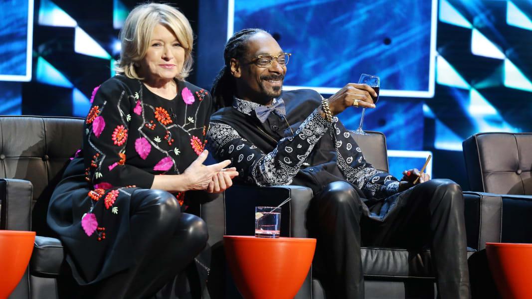 Martha Stewart Snoop Bieber roast RESTRICTED