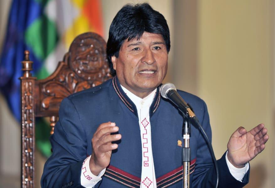 evo morales elections bolivia