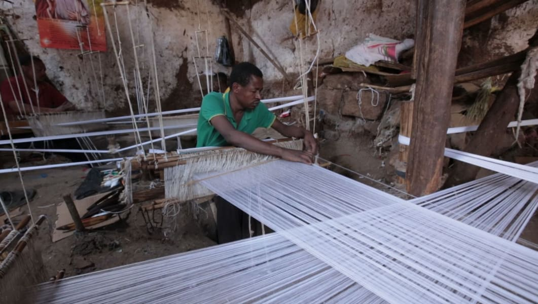 inside africa ethiopia fashion hand weaving