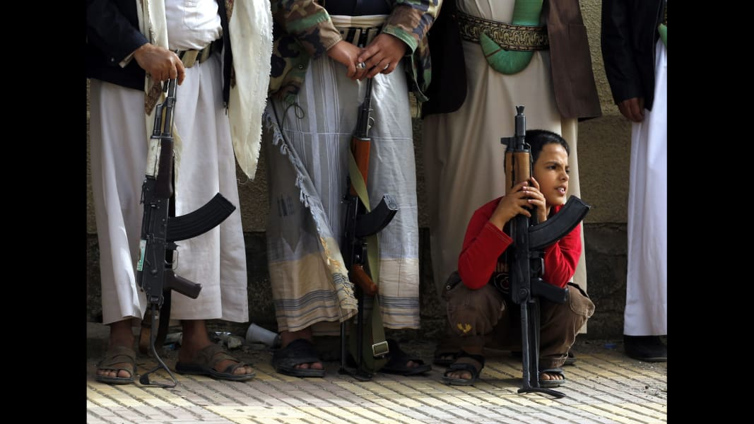 01 yemen unrest 0406 RESTRICTED