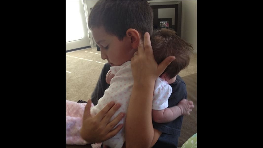 baby siblings irpt Verdini