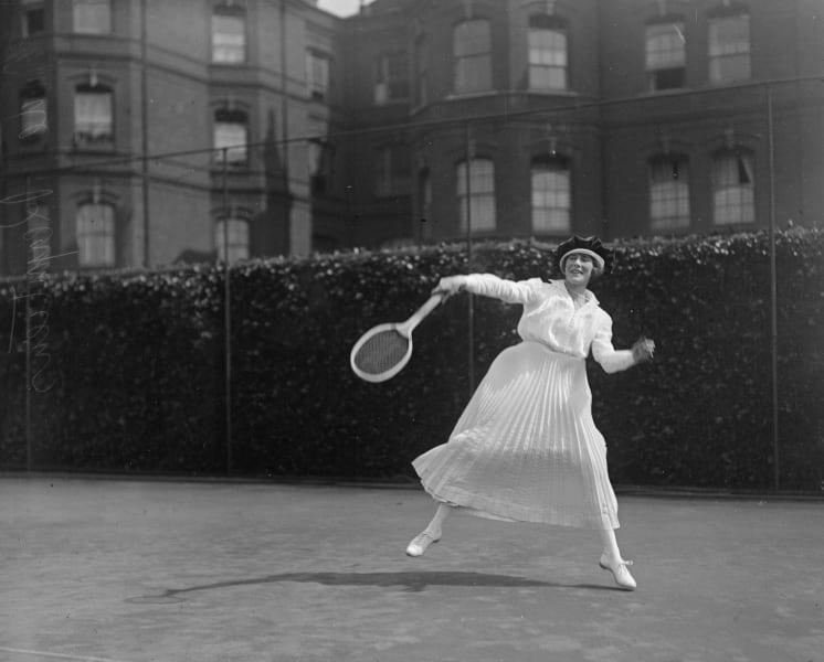 tennis fashion 1918